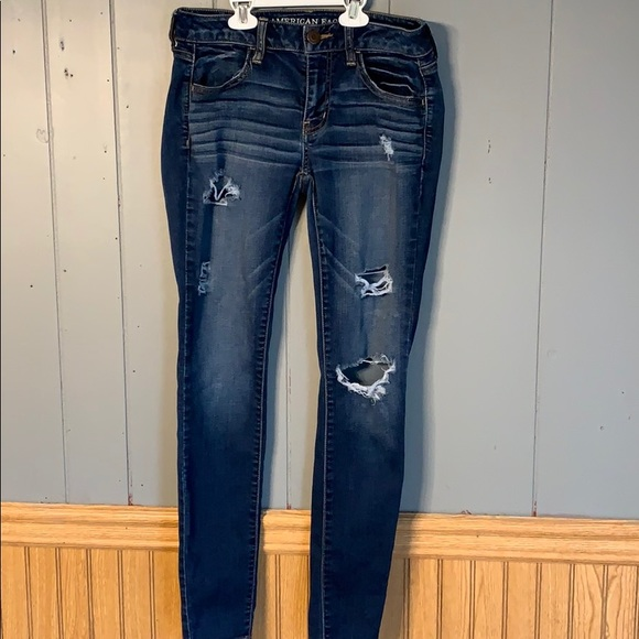 American Eagle Outfitters Denim - American eagle distressed jeggings